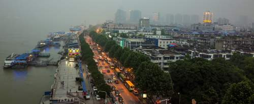 ville Wuhan Chine