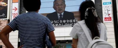 Une interview d'Akihito, l'empereur du Japon.