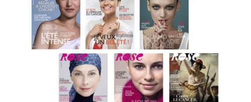 Couverture de magazines « Rose ».