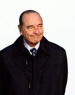 Jacques Chirac - Cannes - 15/02/2007