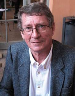 André Brink à Lyon en France, lors des Assises internationales du Roman en juin 2007.
