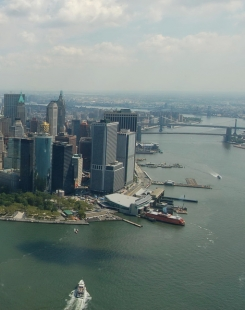 Manhattan, l'un des 5 arrondissements (boroughs) de New York