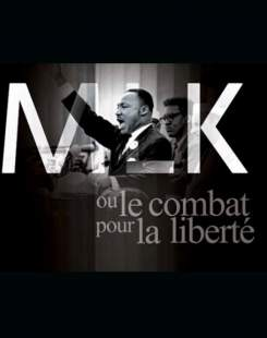 Affiche de l'opéra gospel Martin Luther King.