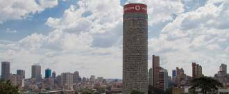 La Tour Ponte City à Johannesburg, en Afrique du Sud, le lundi 28 janvier 2013.