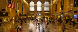 Grand central station, la gare emblématique de New York.