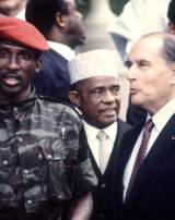 Mitterrand-Sankara: le vieux président et le capitaine impertinent