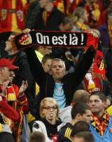 Supporters du Racin Club de Lens