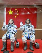 La Chine envoie deux hommes sur Tiangong-2, son laboratoire spatial