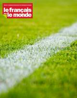 Pelouse d'un terrain de football.