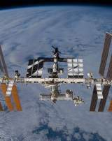La Station spatiale internationale, le 25 novembre 2009. (image d'illustration).