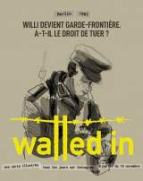 "Visuel Instagram du docu-fiction ""Walled in Berlin"""