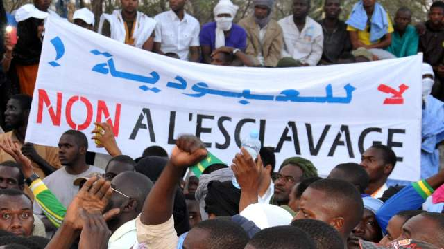 Une manifestation contre l'esclavage et la discrimination à Nouakchott, le 29 avril 2015. (photo d'illustration)