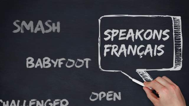 Speakons français !