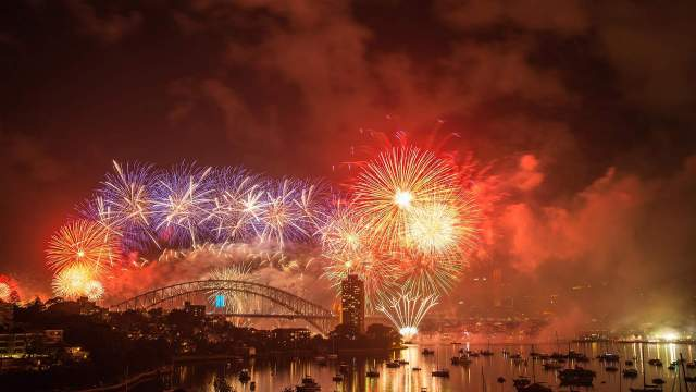 Nouvel An 2015 à Sydney