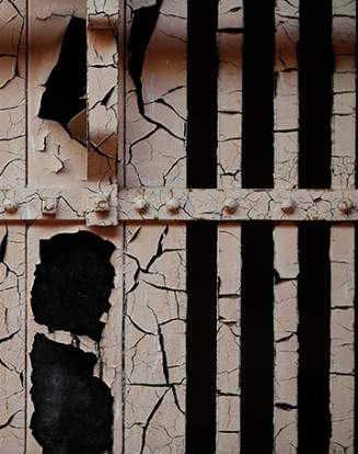Les grilles d'une prison en Californie. (Photo d'illustration)