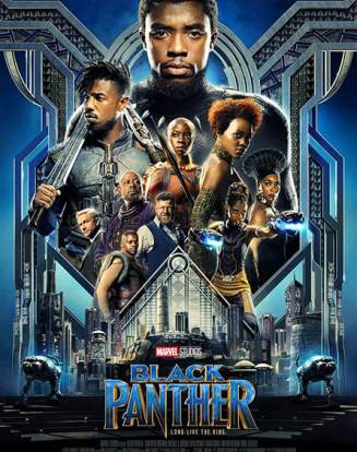 Affiche Black Panther