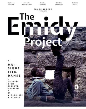 Affiche du spectacle «The Emidy Project».