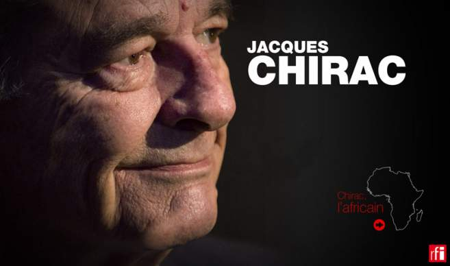 Infographie Chirac l'africain