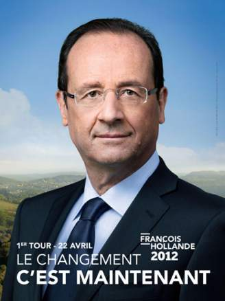 affiche-francois-hollande-changement-maintenant