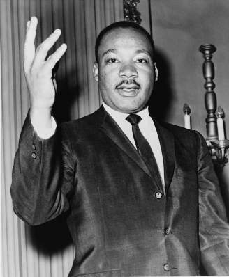 Martin Luther King en 1964.